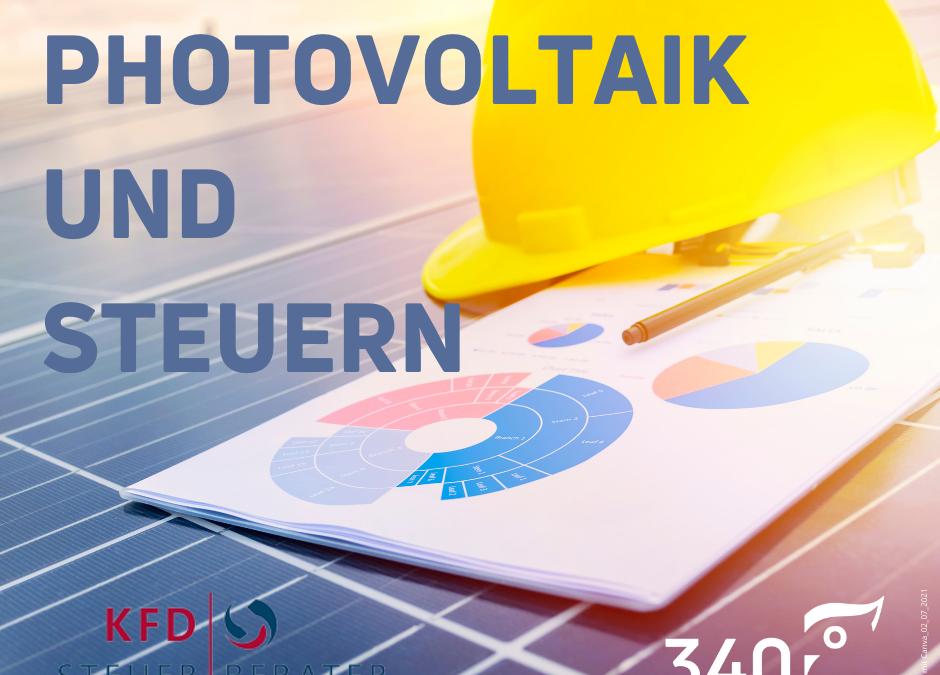 Photovoltaik & Steuern